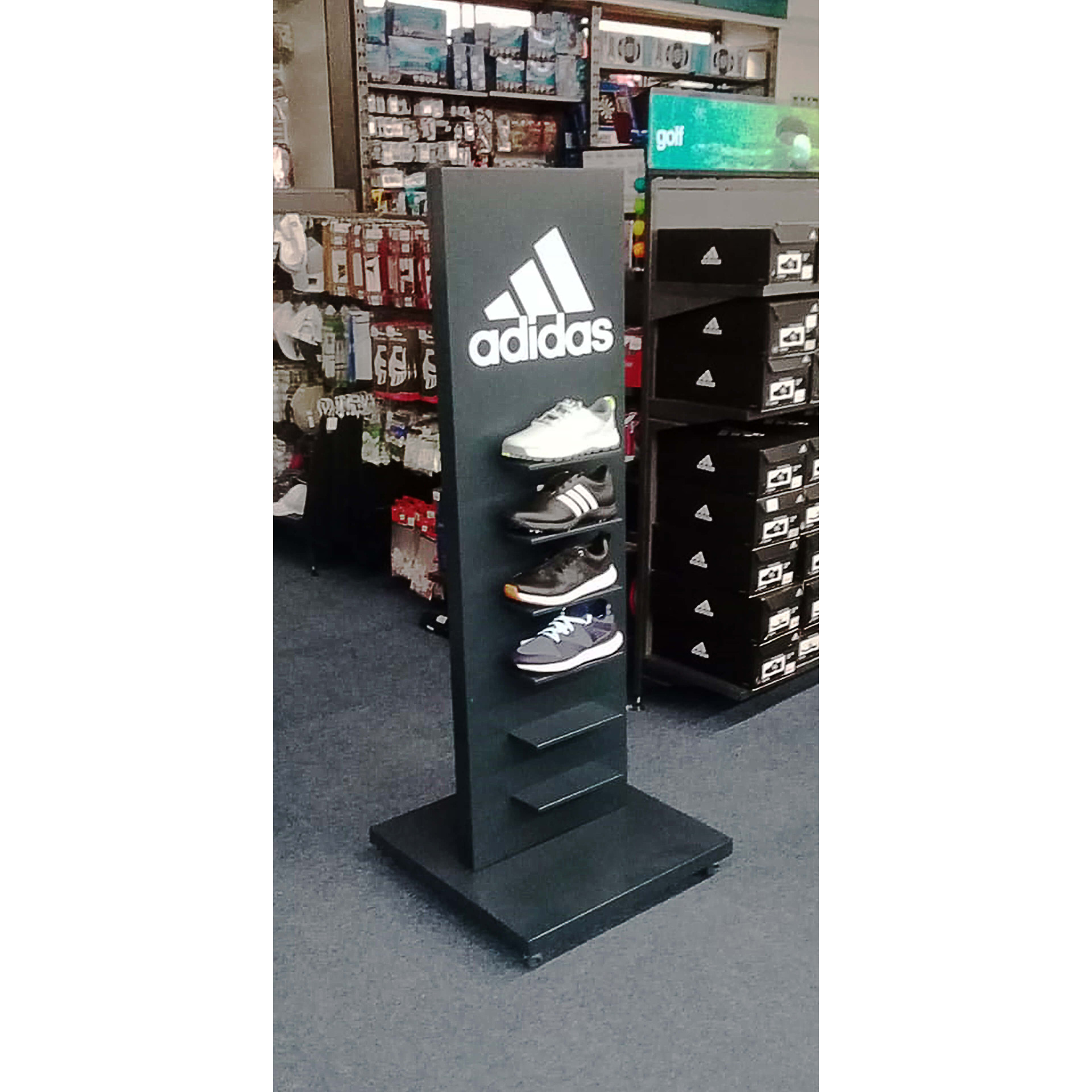 Adidas Footware Stand In Store 2 small