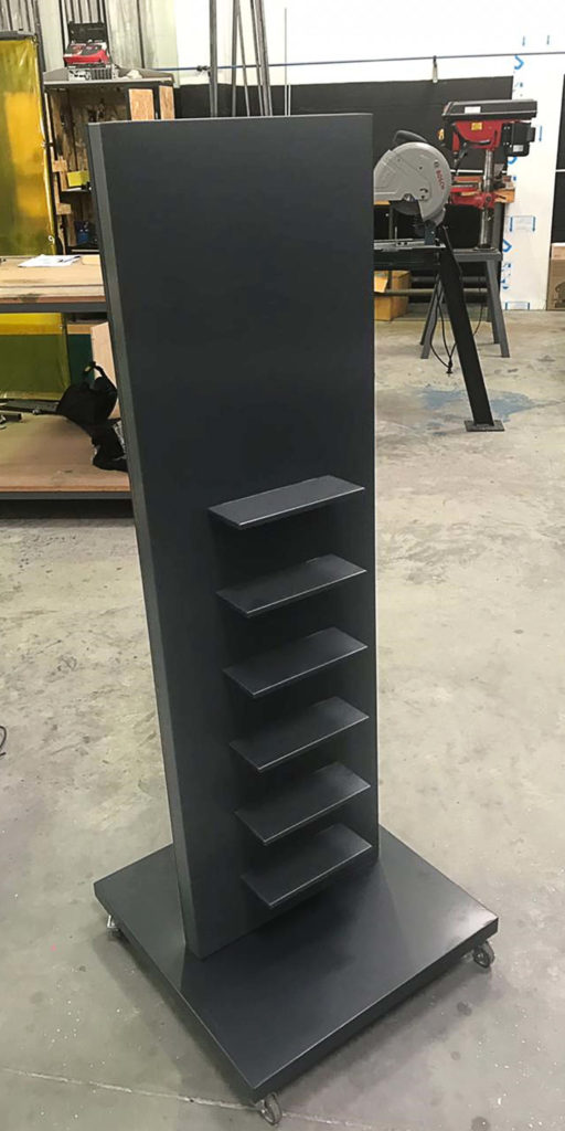 Adidas Footware Stand Manufacturing 1